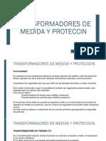 TRANSFORMADORES DE MEDIDA Y PROTECCION
