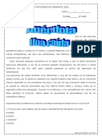 2ª ATIVIDADE DE ESPANHOL 2021