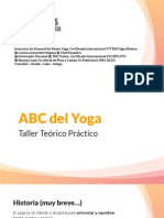 Taller ABC del Yoga