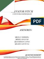 ELEVATOR PITCH CONSULTORIAS POFESIONALES