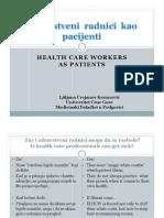 Zdravstveni radnici kao pacijenti