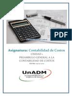 Contabilidad de Costos Unidad 1 Actividad 2