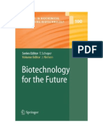 Biotechnology for the Future