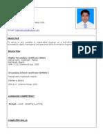 MD.NIAMUL ISLAM CV