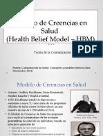 11 MODELO DE CREENCIAS EN SALUD