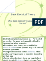 Basic Electrical Theory - Bitter