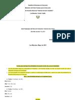 Ciencias de la Tierra de 5to A y B de Adriana Mayo 2021 Hernandez