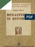 301477482 Andrei Otetea Renasterea Si Reforma