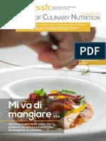 Journal-of-Culinary-Nutrition Numero 1 Gennaio 2017
