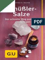 GU Schuessler Salze, Der schnelle Weg zum richtigen Mittel