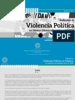 Indicador de Violencia Política en México 2021 (Homicidios) - Etellekt (Mayo 25, 2021)