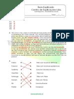 1 - Diversidade dos animais - Teste Diagnóstico (1) - Soluções