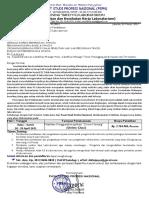 "TRAINING ""SAFETY K3 LABORATORIUM (28-29 April 2021)"