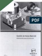 GESTIÓN DE FRENOS MARK 60