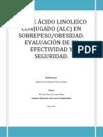 Estudio Acido Linoleico Conjugado (CLA)