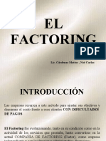 EL FACTORING Y SU APLICACIÓN EN EL COMERCIO EXTERIOR