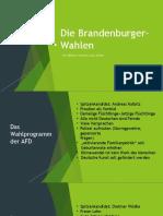 Die Brandenburger-Wahlen