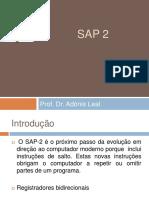 Microprocessadores Aula 13 , 14, 15, 16 - SAP2