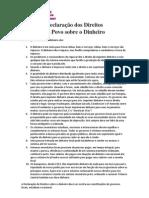 Declaração dos Direitos do Povo sobre o Dinheiro