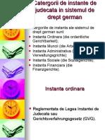 Catergorii de instante in sistemul de drept german powerpoint (1)