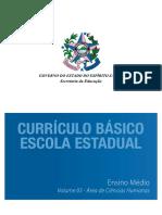 Ensino Médio - Volume 03 - Ciências Humanas