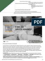 A Atuação Das Organizações Internacionais_direitos Humanos » Relações Exteriores