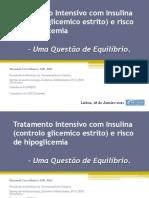 Tratamento Intensivo Com Insulina (Controlo Glicemico Estrito)