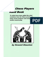 Staunton - The Chess Player's Handbook
