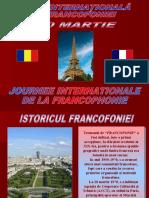 FRANCOFONIE - prezentare (1)