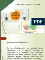 administracion eficaz y eficiente