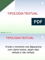 Tipologia textual - perfeito