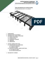 1.- Memoria Descriptiva Estructuras