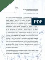 Acuerdo paritario del 35% para el sector estatal