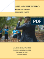 Recital de grado Josué Aponte - Programa de mano parte 2