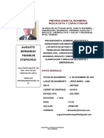 Augusto Franklin Stapelfeld Cv Actualizado