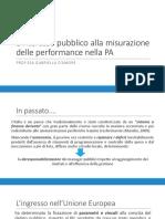 3. L'interesse alla misurazione del valore pubblico