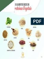 Cópia de 10 Alimentos Ricos Em Proteínas Vegetais
