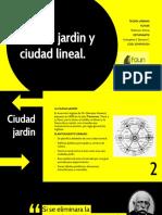 Ciudad jardìn y ciudad lineal