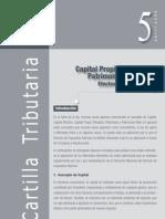 Capital propio tributario y patrimonio financiero