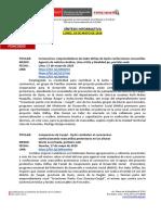2020 05 18 - Foncodes - Sintesis Informativa