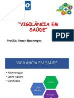 VIGILÂNCIA EM SAÚDE REVISÃO