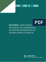 JANSSEN - Relatório Bases Técnicas para Decisão do Uso Emergencial