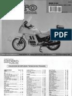 Manual k100 2v Rs Rt Revista Moto Tecnica Castellano 1