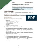 Syllabus Systèmes de Radionavigations