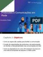 AULA 002 - CAP 3 - Protocolos e Comunicações em Rede