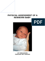 PHYSICAL ASSESSMENT OF A NEWBORN BABY