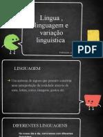 Lingua e Linguagem (1)