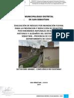 9710 Informe de Evaluacion de Riesgo Por Inundacion Fluvial en El Centro Historico y Aledanos Distrito de San Juan Bautista Provincia de Cusco Departamento
