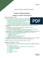 Examen_Corrigé Méthaheuristique