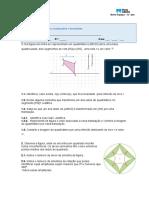 Miniteste 7 Vetores, translações e isometrias
